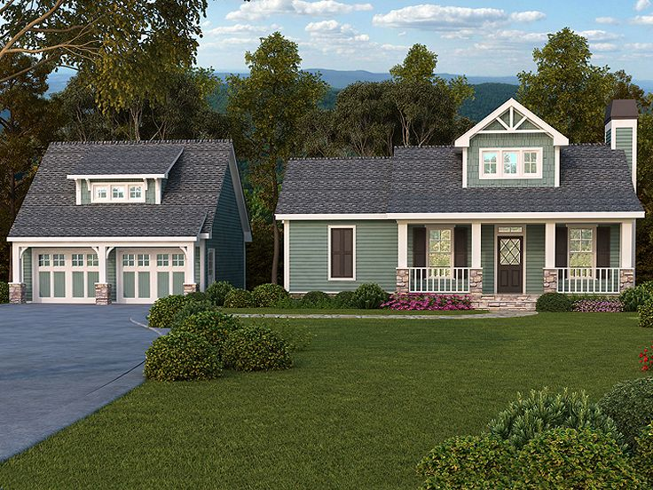 Craftsman Home Plan, 053H-0077