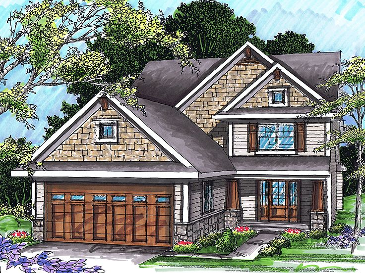 Craftsman Home, 020H-0244