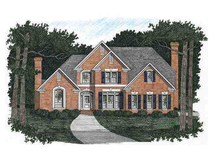 Traditional Home Design, 045H-0024