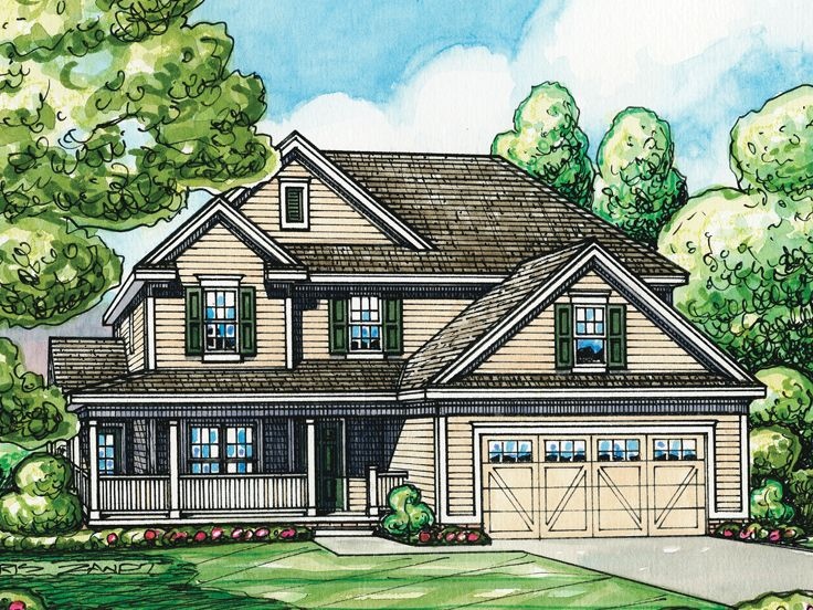 Country Home Design, 031H-0249