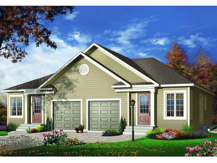 Plan 027m 0027 find unique house plans home plans and for Cool house plans duplex