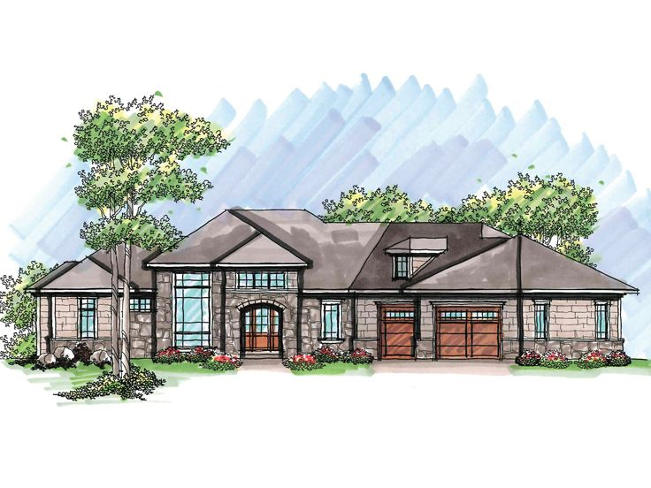 Luxury House Plan, 020H-0225