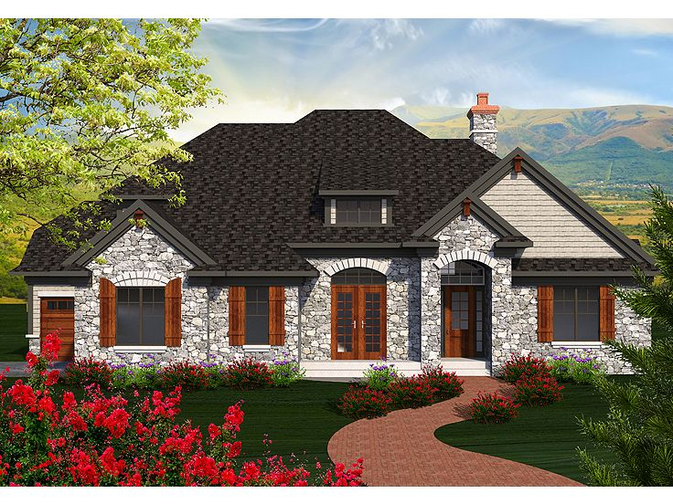 European house plans two story european home plan 020h for 2 story european house plans