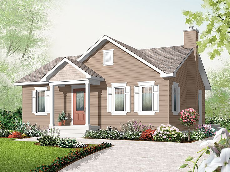 Love Shack House Plan, 027H-0235