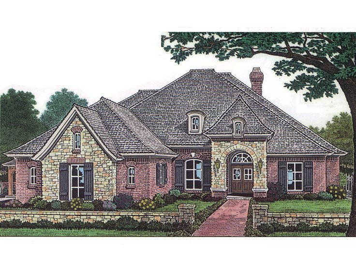 European Home Plan, 002H-0048