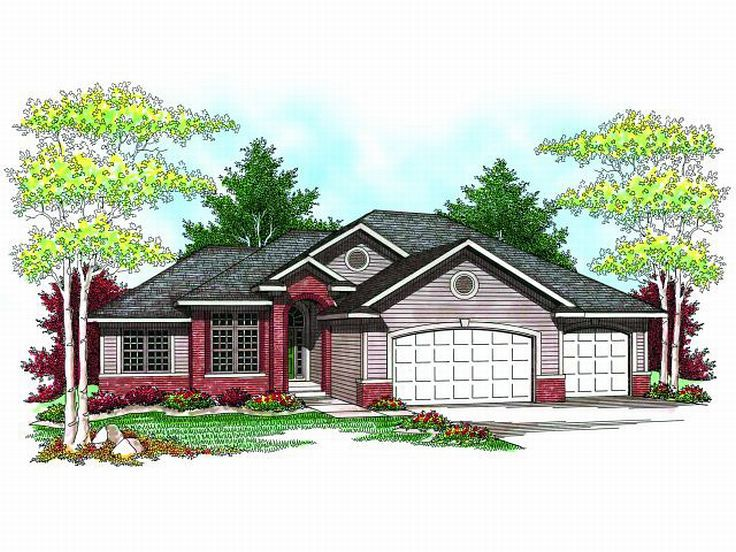 Traditional House Plan, 020H-0178