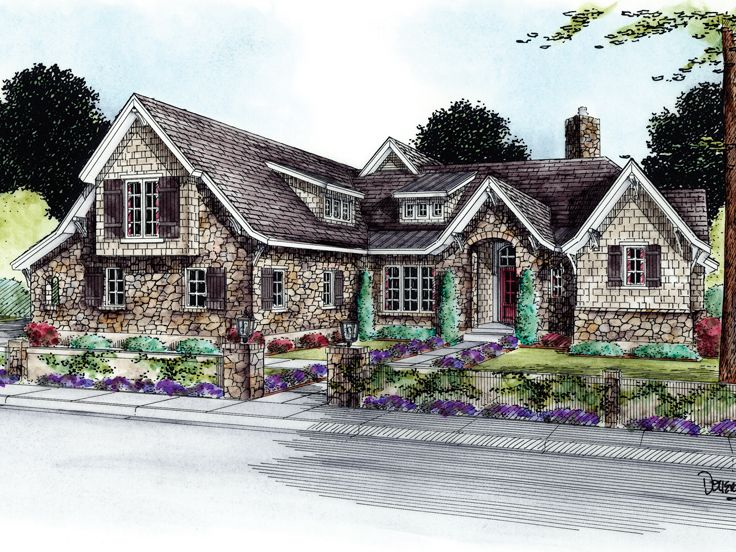 Two-Story Home Design, 031H-0236