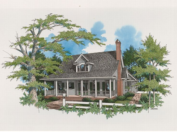 Farmhouse Plan, 030H-0036