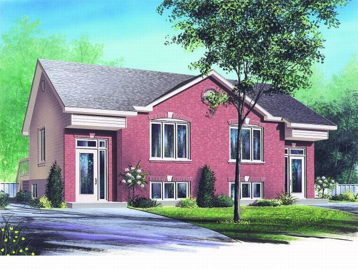 Multi-Family Home Plan, 027M-0004