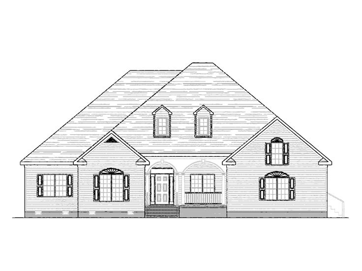 One-Story House Plan, 058H-0109