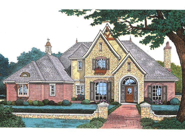 Two-Story Home Plan, 002H-0077