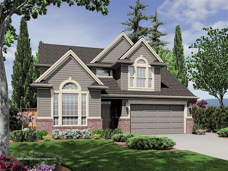 Traditional Home Plan, 034H-0206