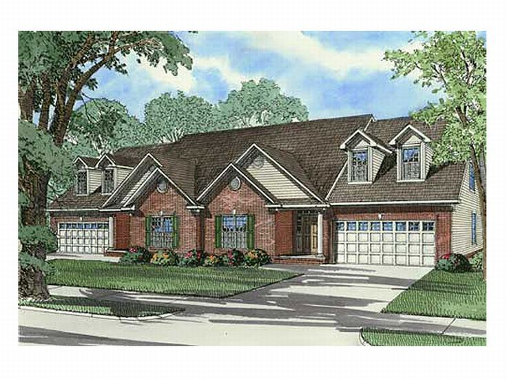 Multi-Family House Plan, 025M-0029