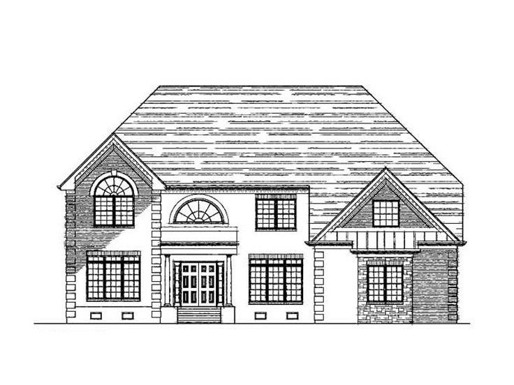 European House Plan, 058H-0079