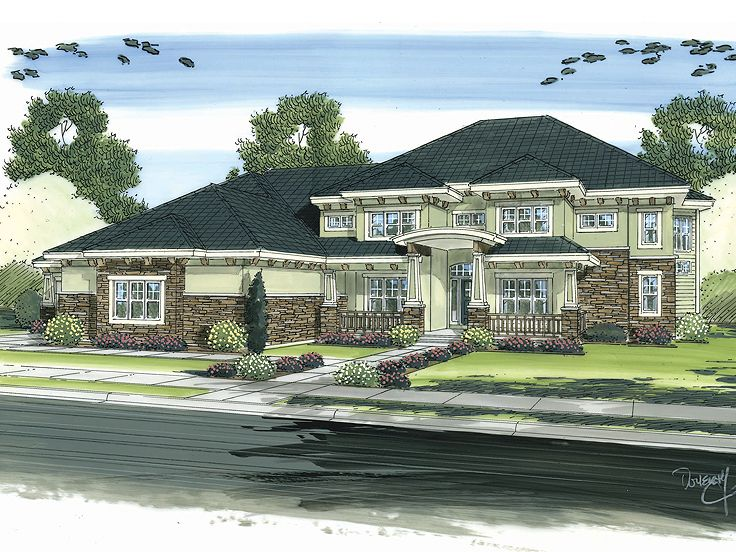 Luxury Home Design, 050H-0015