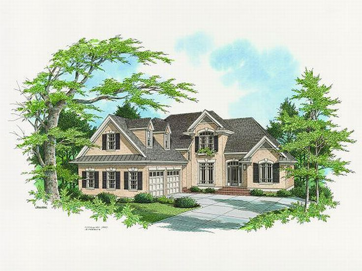 Sunblet House Plan, 030H-0060