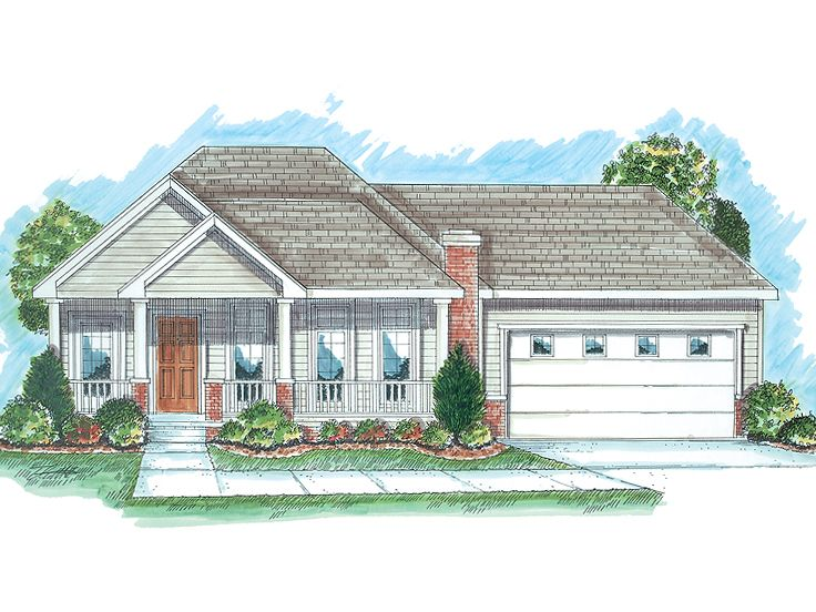 Affordable House Plan, 050H-0020