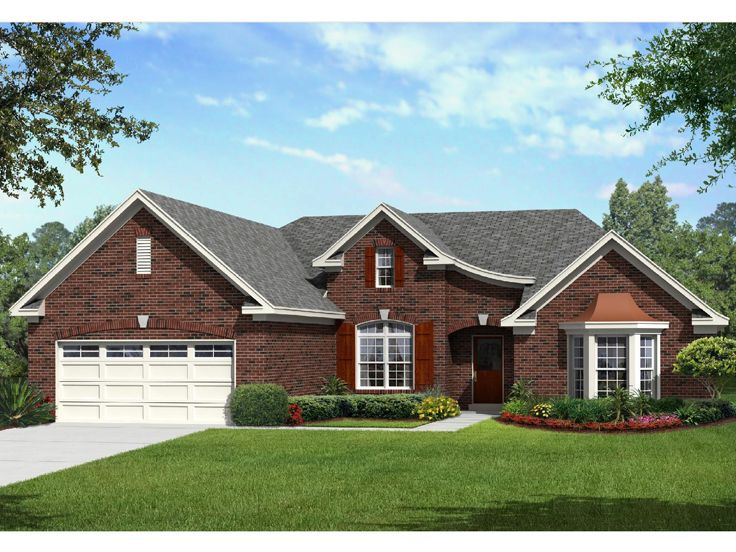 European House Plan, 061H-0161