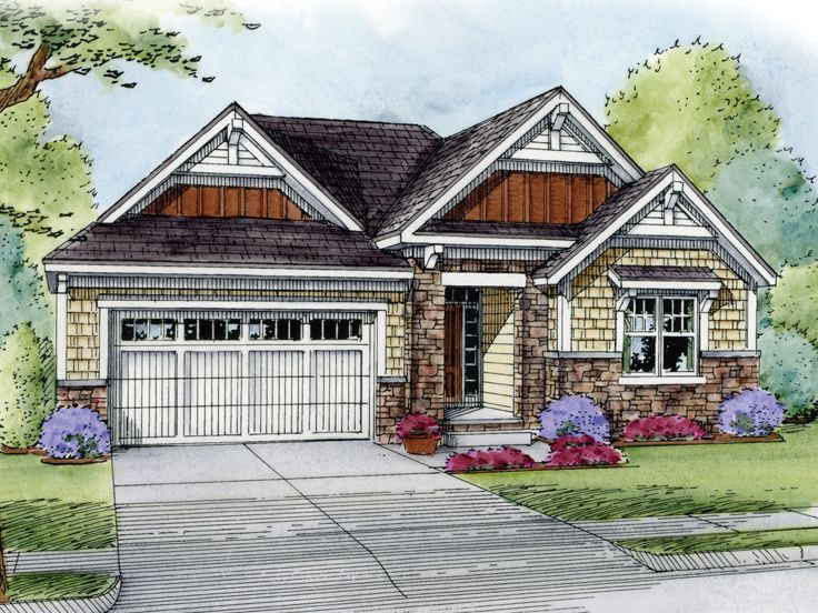 One-Story House Plan, 031H-0251