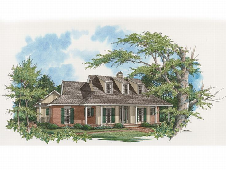 Country Home Plan, 030H-0030