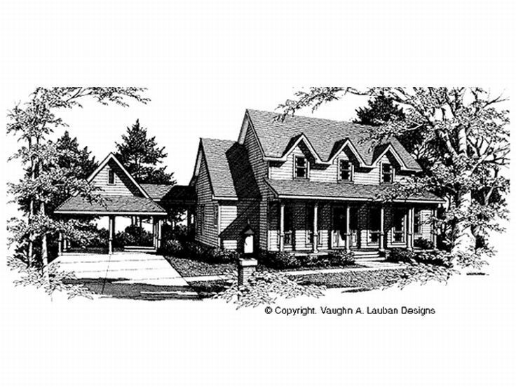 Country House Plan, 004H-0079
