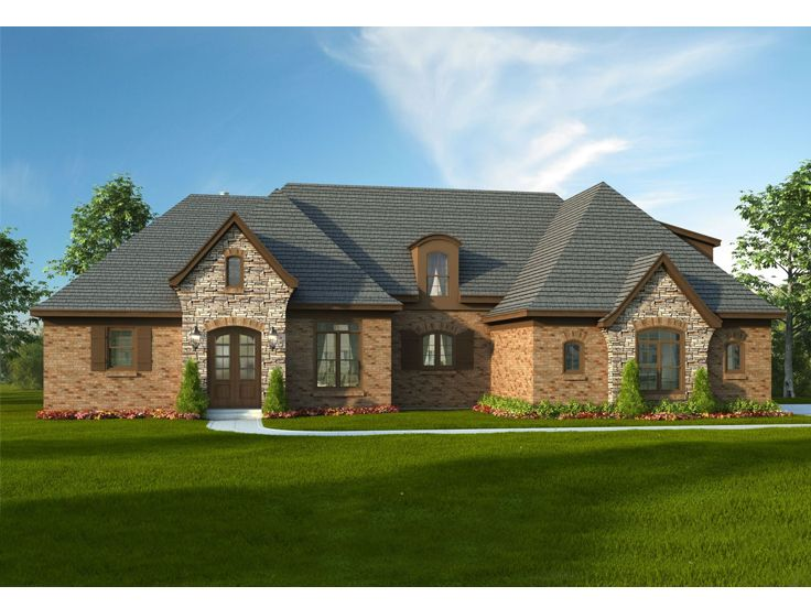Multi generational house plans 2 story country home plan for Multi generational home plans