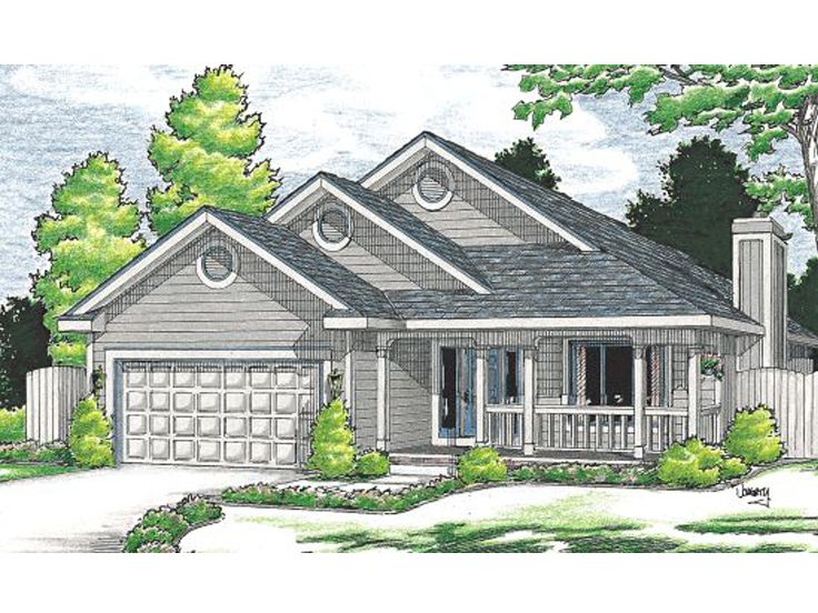 Small House Plan, 031H-0126