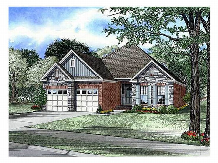 Small House Plan, 025H-0052