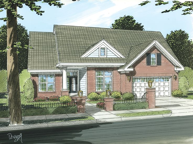 One-Story House Plan, 059H-0097