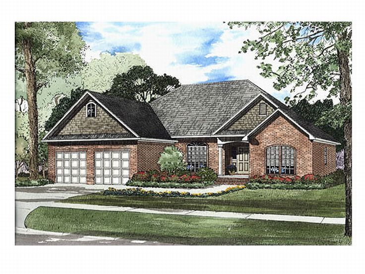 Traditional House Plan, 025H-0101