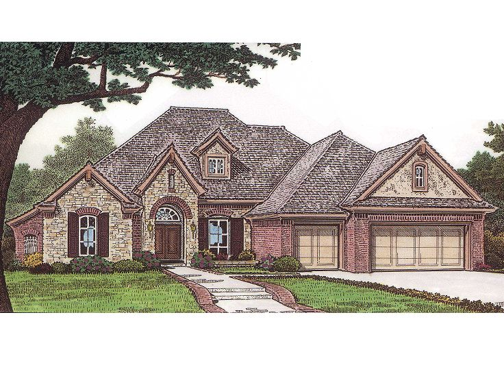 European Home Plan, 002H-0052