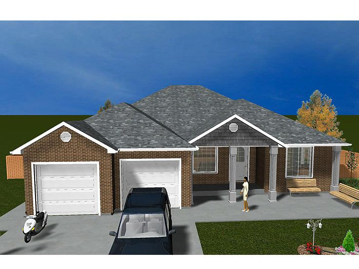 Plan 065h 0039 find unique house plans home plans and for Small empty nester home plans