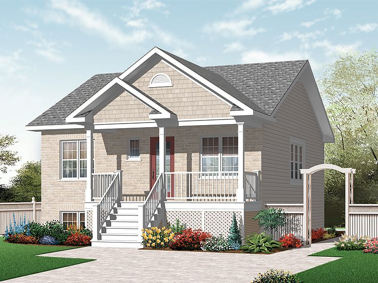 Vacation Home Plan, 027H-0234
