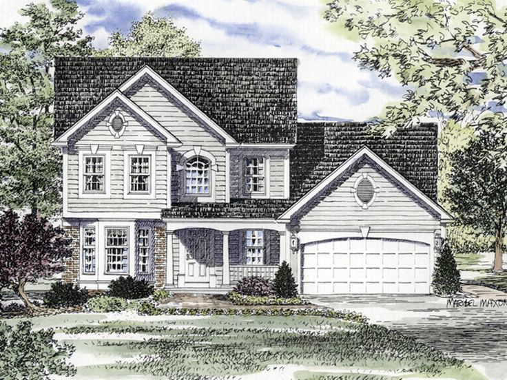2-Story House Plan, 014H-0053