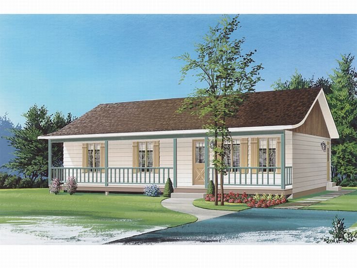 Ranch Home Design, 027H-0118