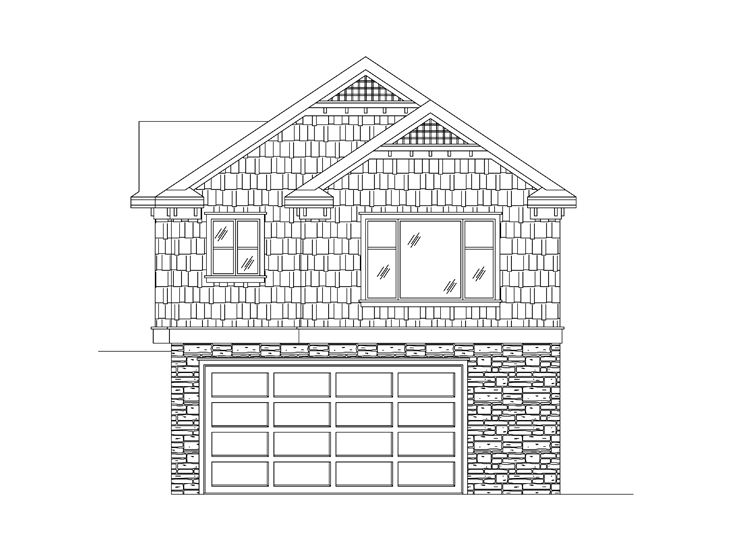 Garage Apartment Plan, 024G-0019