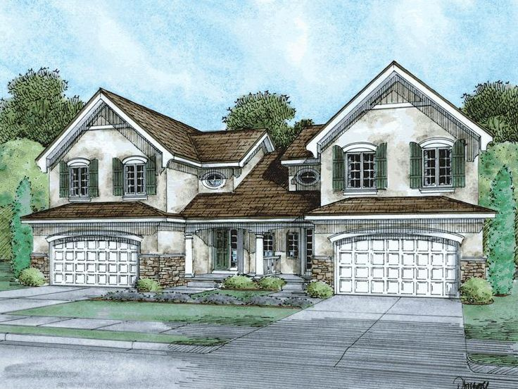 Plan 031m 0040 find unique house plans home plans and for Unique duplex plans