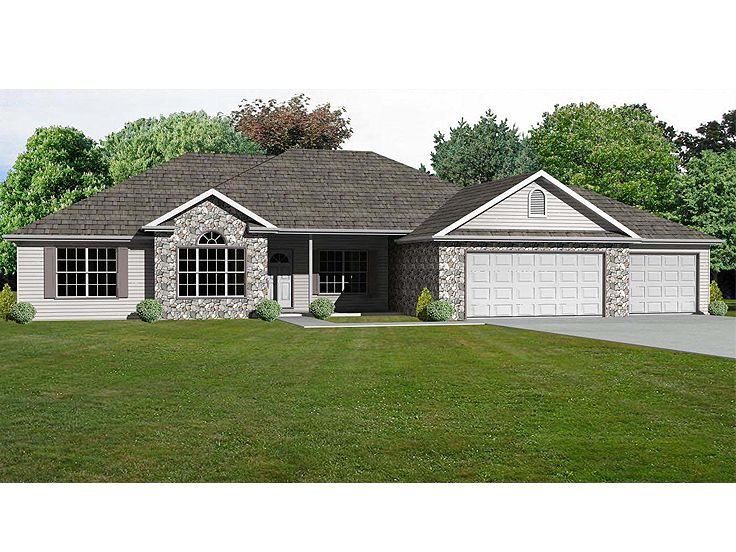 Traditional Home Plan, 048H-0033