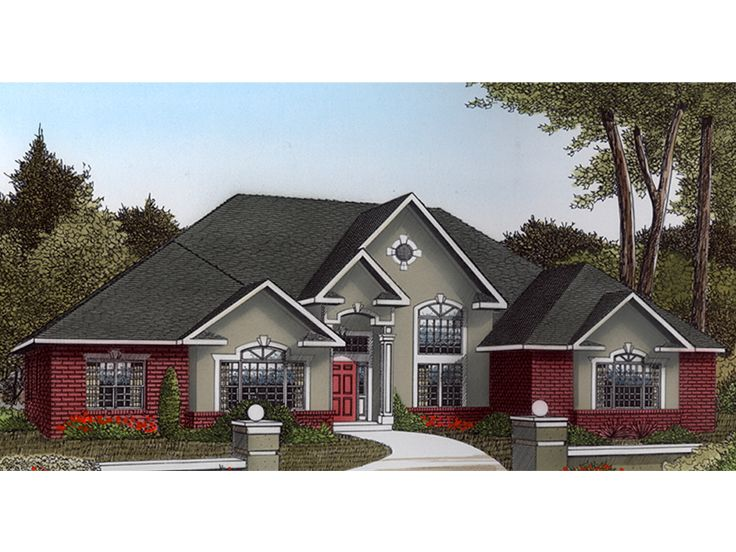 1-Story House Plan, 044H-0036