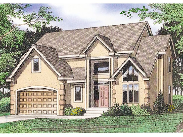 Florida Style Home Plan, 009H-0055