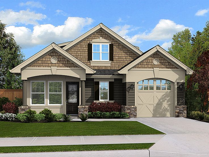 Garage apartment plans 2 bedroom garage apartment plan for Single car garage with apartment