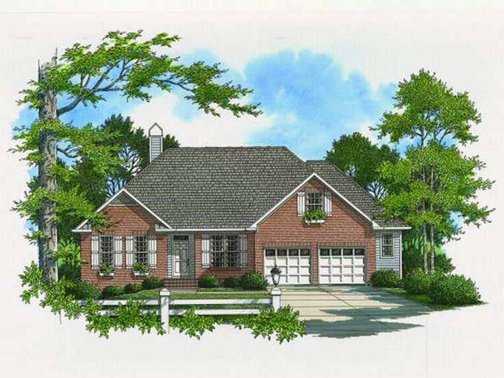 Traditional Home, 030H-0048
