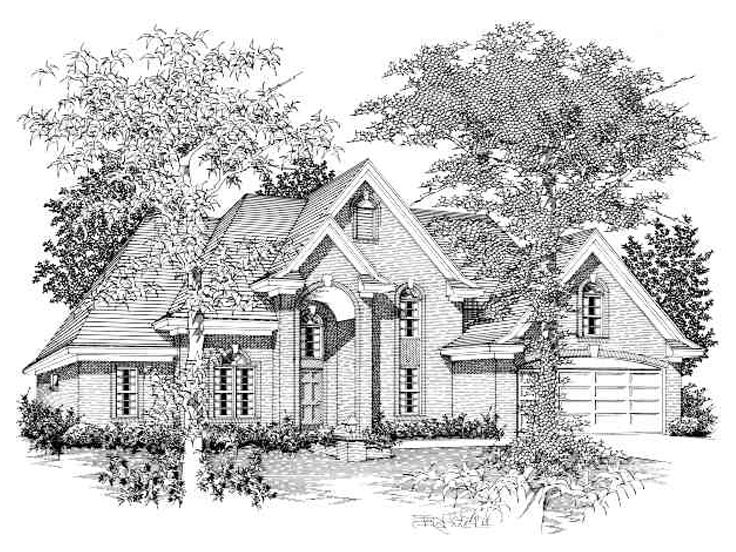 Traditional Home Plan, 061H-0053