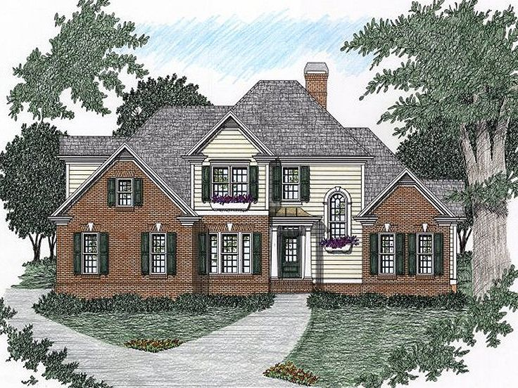 Traditional Home, 045H-0043