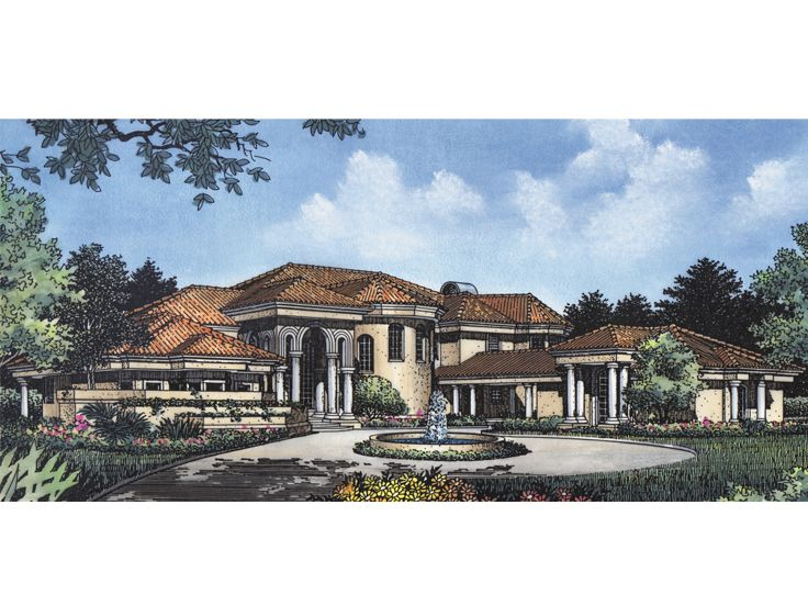 2-Story Luxury Home, 043H-0230
