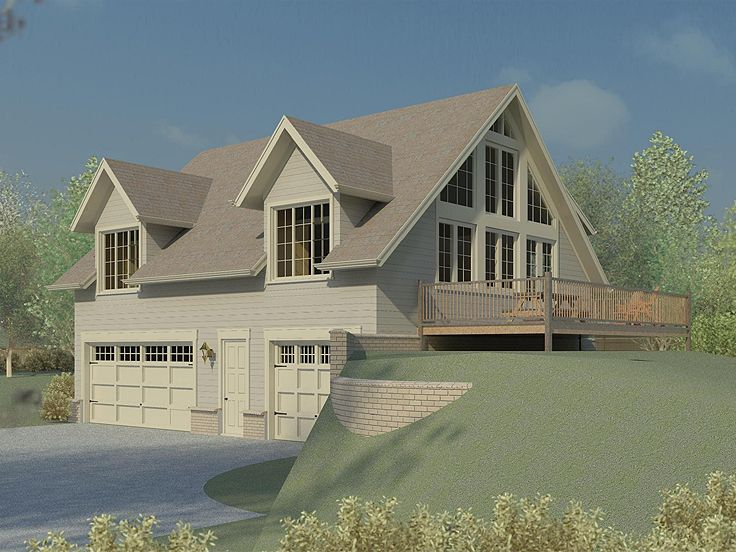 Garage apartment plans garage apartment plan doubles as for Large carriage house plans