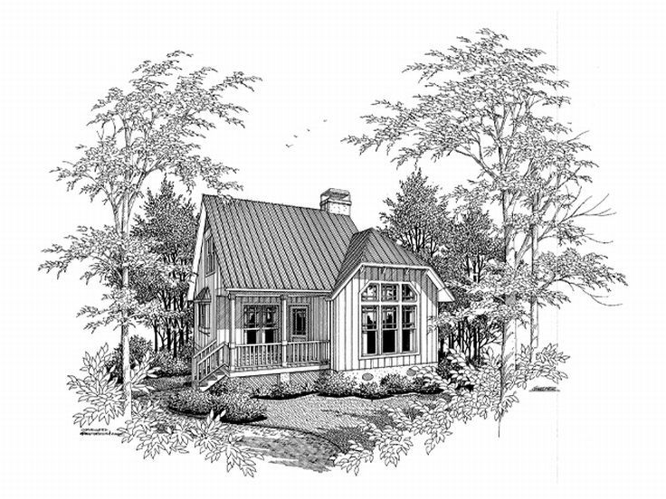 Vacation Home Design, 030H-0001