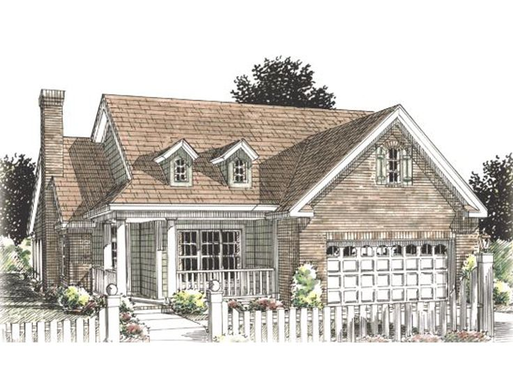 Small House Plan, 059H-0018