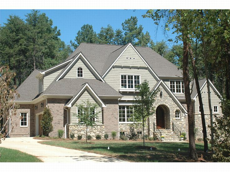 Luxury House Plan Photo, 029H-0056