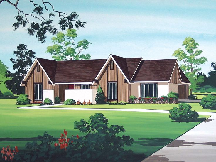1-Story House Plan, 021H-0205